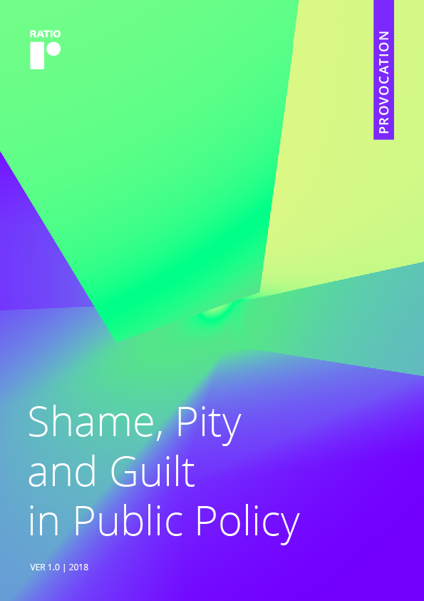 Shame, Pity and Guilt in Public Policy